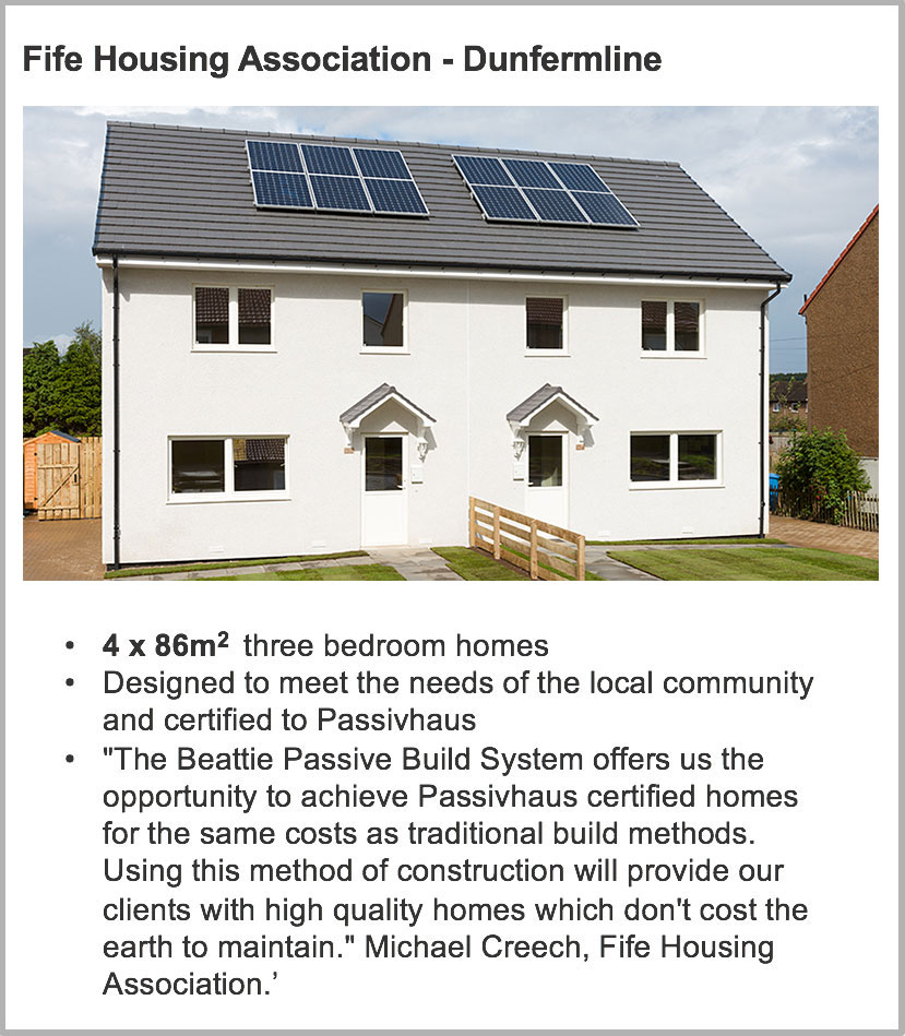 Fife Housing Assocation Passivhaus